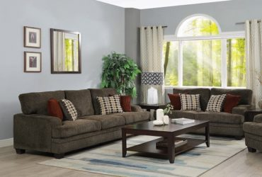 SOFA, LOVE SEAT & CHAIR