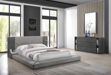 King Bed,2 Night Stand, Mirror, Dresser
